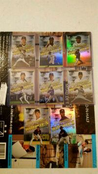 Bowman platinum renowned rookie lot of 8 Jessup, 20794