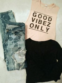 Women's Tops & Ripped Jeans Red Deer, T4P 0B6