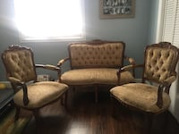 Love seat and two chairs 300$ Garden Grove, 92845