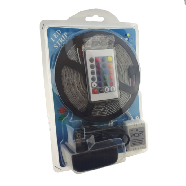 LED Light Strip - 5 Meters (with Adapter and Plug) 670e69a7-aac6-408c-ba54-32864e22d8f4