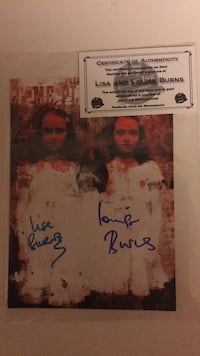 Autograph from the twins in the Shining Wilmington, 28409