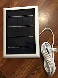 Solar charger for ring