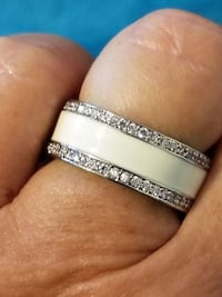 925 Silver and CZ Ring Size 7 Fort Worth, 76244