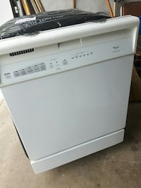 white Whirlpool dishwasher Ontario, L8E 3M4