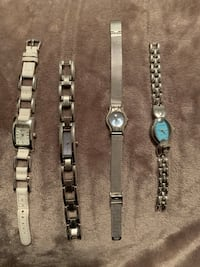 Lot of 4 Watches Used Milton, L9T