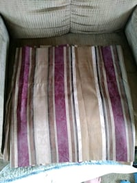 Maroon and browns valance  Greeley, 80631