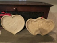 Lot of cookie molds- pampered chef/ brown bag Springfield