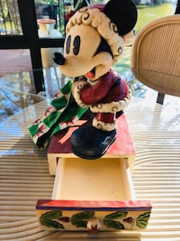 Santa Mickey Mouse by Jim Shore