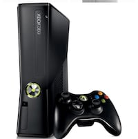 Black xbox 360 (no cable) Mississauga, L5B 2B5