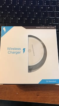 White qi standard wireless charger box Columbus, 43206