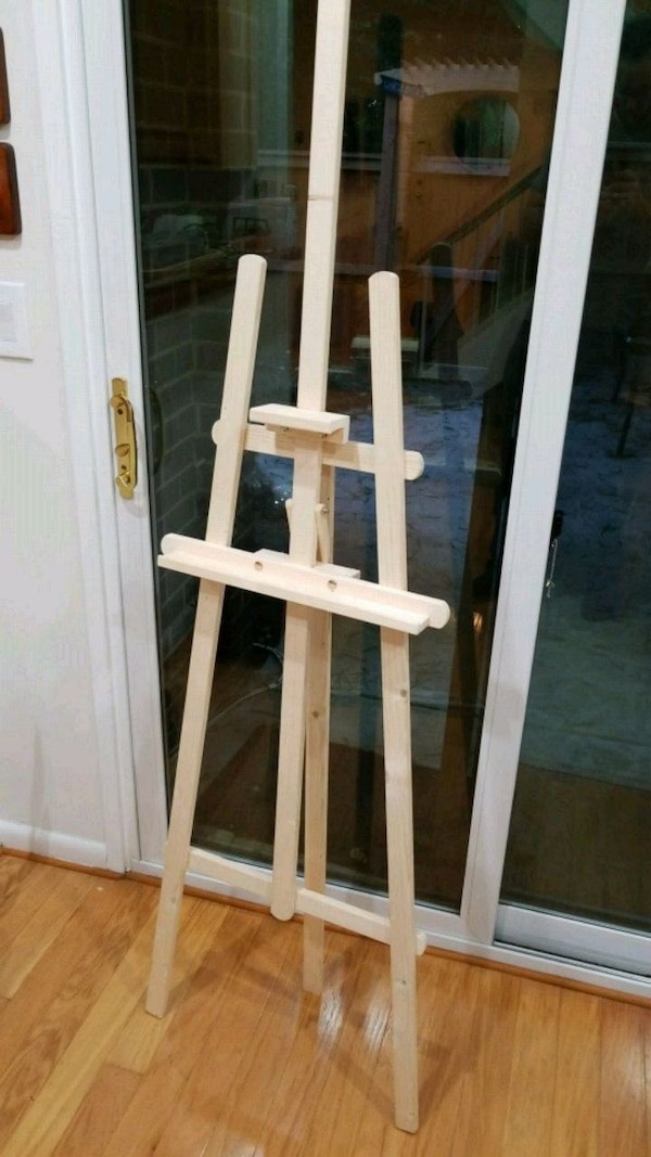 Large Wooden Artist Easel