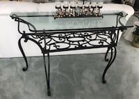 Wrought Iron Sofa Table  Clearwater, 33765