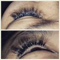 Eyelash extensions tech Toronto, M1V 1W3