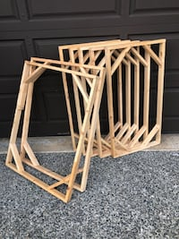WOOD MOUNTING FRAMES