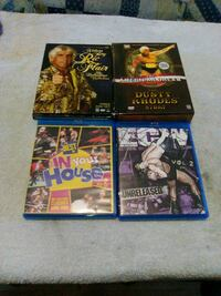 Mixed wwe dvds n bluerays Hedgesville