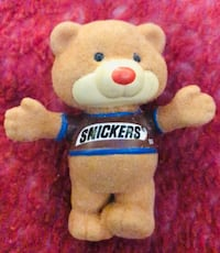 Vintage snickers bear stands 2 in in good condition located off lake m Las Vegas, 89108