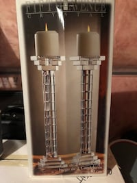 two stainless steel tube type vapes Milton, L9T