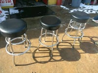 black leather padded bar stools Baltimore, 21223