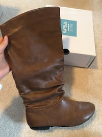 Brown boots size 9 Guelph