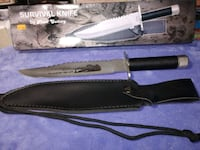 """(New) 15"""" Survival Knife Stafford, 22556"""