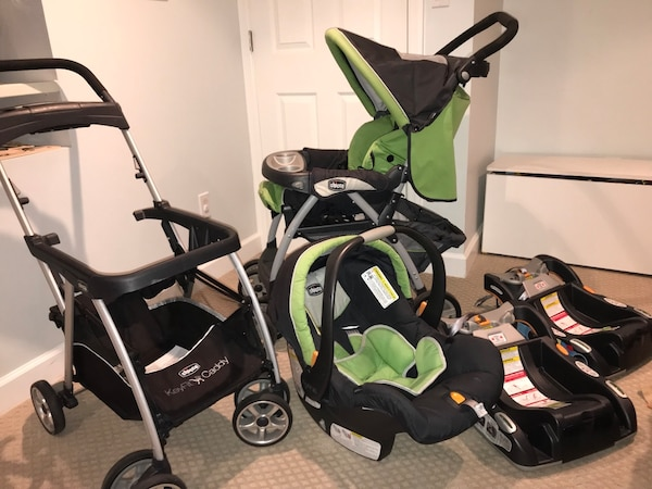 Chicco Keyfit 30 Infant Car Seat W 2 Bases Cortina Toddler