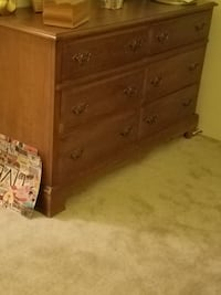 Bassett solid wood bedroom set  Gaithersburg, 20877
