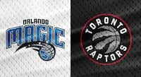 Raptors vs. Magic, April 1 – Lower Bowl, Aisle Toronto