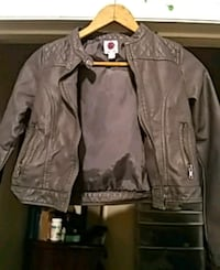 brown leather zip-up jacket Knoxville, 37920
