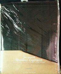 black shower curtin new Frederick
