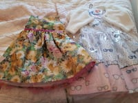 Girls silk dresses size 6 Vaughan, L4L 8B6