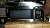 Stainless steel LG over the range microwave  Caledon, L7C 1B3