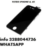 VETRO IPHONE 4 4G 4S TOUCH SCREEN Canosa di Puglia