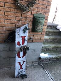 Large decorative wooden joy sign - free delivery