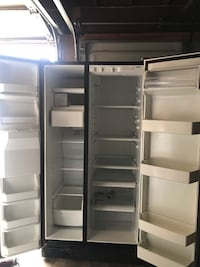 white side by side refrigerator Los Angeles, 90744