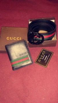 black and red Gucci belt with box Ceres, 95307