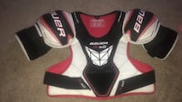 pair of black-and-red Bauer gloves St Albert, T8N