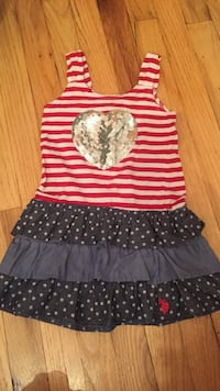 Polo July4 dress