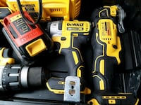Dewalt cordless hand drill and impact wrench set Houston, 77083