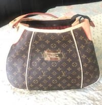 brown Louis Vuitton leather tote bag Chattanooga, 37421