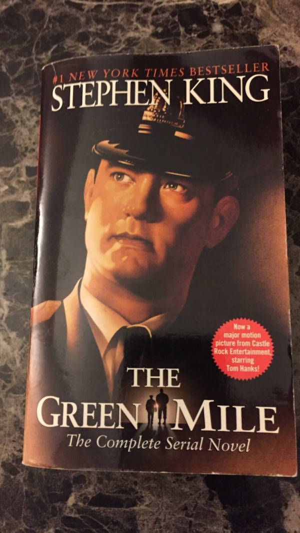 The Green Mile By Stephen King Usag Vendre Waterloo Letgo