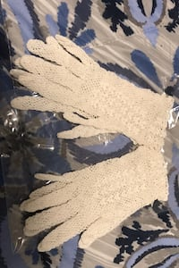 Hand made 50s lace gloves.  Awesome for proms , communions etc.     Somerville, 02144