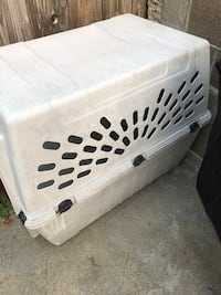 white and black pet carrier San Francisco, 94134