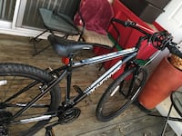black and red hardtail mountain bike Woodbridge, 22191