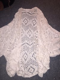 women's white knit cover up Dieppe, E1A 1A8