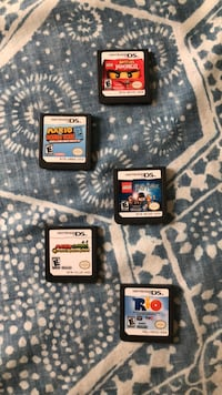 three Nintendo DS game cartridges Silver Spring, 20903