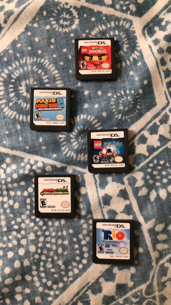 5 DS games