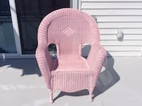 Pink wicker chair.  Outdoor chair Little Egg Harbor, 08087