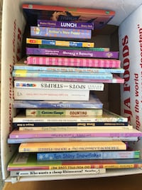 25 toddlers books for 20$ San Jose, 95124