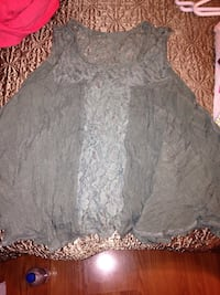 women's gray floral lace sleeveless dress Sedro Woolley, 98284