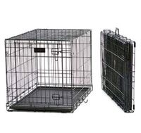 24x18x19 dog puppy foldable crate single door Capitol Heights, 20743